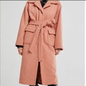 Pink / blush trench